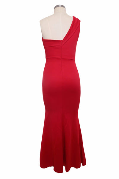 MX94 Sexy One Shoulder Maxi Gowns ( 3 Colors)