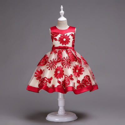 Floral Little Girl Dresses
