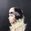 BJ56 Handmade Gatsby Feather Beads Headpiece