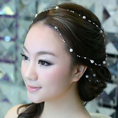 BJ98 Pearl  Bridal Accessories ( 6 Colors)