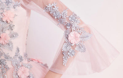 Fairy Floral Quinceanera Dress