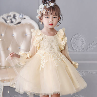 FG05 Lace flower Girl Dresses