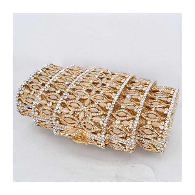 CB59 Luxury Diamond with Chain Party Clutch Bags (4 Colors)