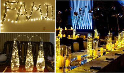 Lights LED Copper Wire for Wedding Party & Home Decoration
