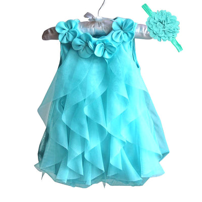 Infant Birthday Dress & Headband