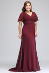 BH189 Formal Plus Size Bridesmaid Dresses(6 Colors)