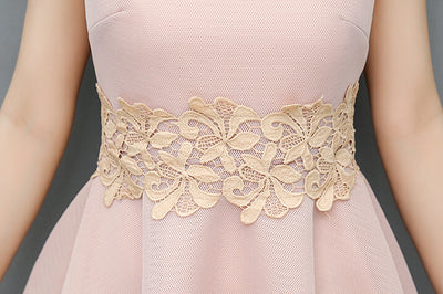 BH48 Embroidery floral belt Bridesmaid Dresses