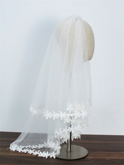 BV87 Yarn tulle Wedding Veil