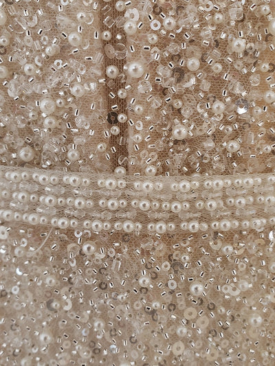 Pearl Sequin Beaded Mermaid Wedding Dresses