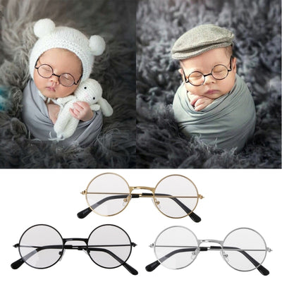 Newborn Photography Glasses Props (3 Colors)