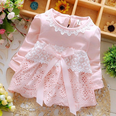 FG109 Fashion cuties summer baby girl dresses (4 Colors)