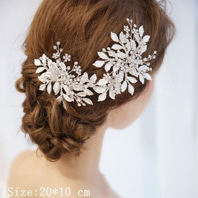 BJ104 : 12 styles handmade Rhinestone Bridal Hair Accessories