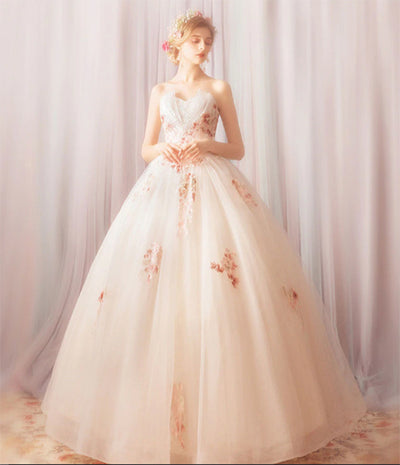 CG01 Embroidery Bridal Dress for Pre Wedding Shooting
