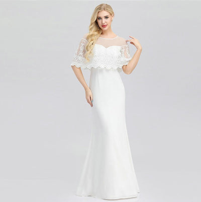 CW208 Cheap simple mermaid wedding dresses