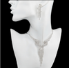 BJ186 : 7 styles tassel Bridal Jewelry sets(Necklace+Stud Earrings)