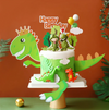 Dinosaur Birthday Cake Topper and dessert decorations