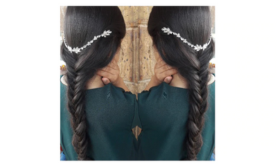 BJ15 Rhinestone Bridal Hair Jewelry
