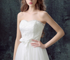 CW 70 : 2in1 off the shoulder Wedding Dress with detachable skirt