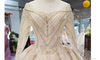 HW04 Real Sample Picture luxury glitter wedding gowns