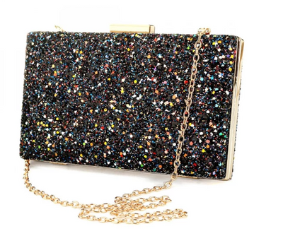 CB109 Glitter Prom Clutch Bags (5 Colors)