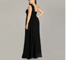 PP123 Plus Size One Shoulder Ruffles Evening Dresses(3 Colors)
