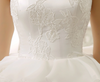 SS24 Ruffles Lace Up Back Short Wedding Gowns