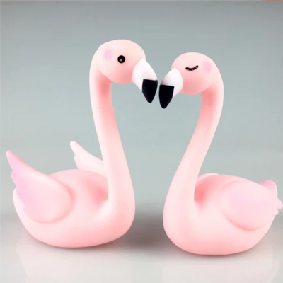Flamingo Cake Topper for Baby Showers, Birthday,Wedding supplies