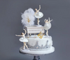 Ballet Girls Cake Topper for Wedding,Party supplies