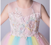 FG23 Flower Rainbow Dress for Birthday Party