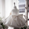 FG210 White Princess Girl Dresses