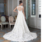 SS35 Plus size Hi-low Wedding Gown