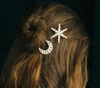 BJ69 Trendy Shiny Star Bridal HairPin Barrettes(5 styles)