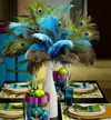 Top Quality Peacock Feathers For DIY Wedding Decoration