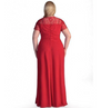 PP69 Formal Plus Size Evening Dresses(3 Colors)