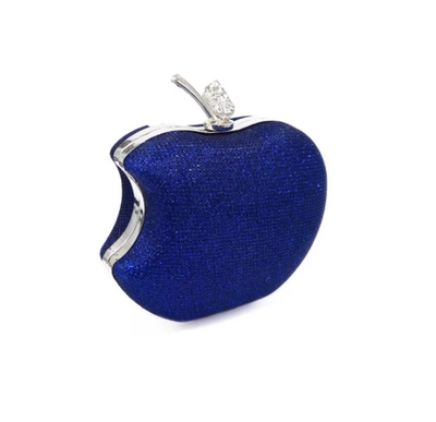 CB126 Crystal Apple Shape Minaudiere Bags (8 Colors)