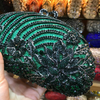 CB233 Shell shaped Crystal Evening Clutch Bags (10 Colors)
