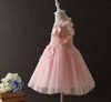 FG236 : 2 Styles Summer Flower Girls Dresses (Pink/Gray)
