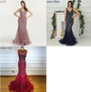 Sleeveless Beading backless Evening Dresses(4 colors)