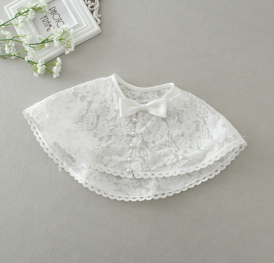 FG234 Toddler White lace Party Girl Dress