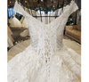 HW38 Glamorous off shoulder sweetheart ball gown lace up wedding dress