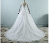 CW31 Real Photo Plus Size long Sleeves  Wedding Dresses