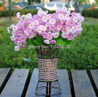 Artificial big Campanula Flower for Wedding Decoration(5 Colors)