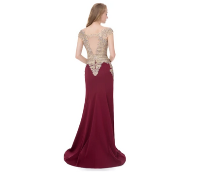 Satin mermaid Evening Dresses(3 Colors)