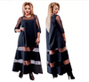 MX151 Plus size chic summer Maxi dresses (3 Colors)