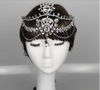 BJ39 Luxury rhinestone waterdrop Bridal Hair Accessory