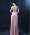 PP49 Plus Size halter beaded Evening Dresses(9 Colors)