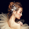 BJ49 Bird Tassel Bridal Ear Hanging