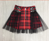 CK06 Plus Size Gothic Punk Mini Skirt