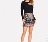 CK11 Summer Sequins Mini Skirt
