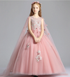 FG256 Pink Flower Girl Dress(1-14 Yrs)